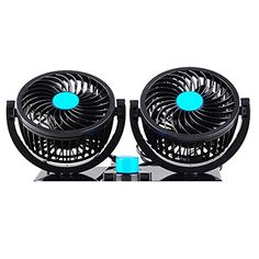 Taotuo 12V 360 Degree Rotation Adjustable Strong Wind Car Air Fan 2-in-1 Air Circulator for Truck SUV  Taotuo 12V 360 Degree Rotation Adjustable Strong Wind Car Air Fan 2-in-1 Air Circulator for Truck SUV  Features:   ● Low energy consumption, good appearance  ● Portable and easy taking, good looking  ● Double wind wheel, double outlet structure design, good balance, small vibration  ● Multi-functional use, can be used for truck, car etc  ● It is a good option for summer cooling, wit..