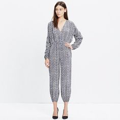 Madewell - Ulla Johnson™ Silk Florence Jumpsuit