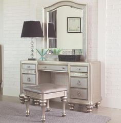 Lex Platinum Vanity Table