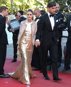 Olivia Palermo in Roberto Cavalli (*gasp* they look like movie stars....stunning and beautiful)