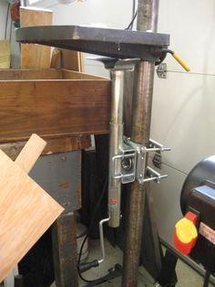 Onlinetoolreviews Com Easy Riser Drill Press Conversion