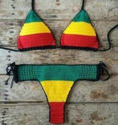 Biquini Reggae - Encontre mais belezas mil no site  enjoei.com.br bcc546a581f