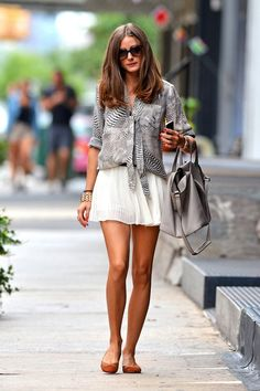Olivia Palermo. Her fashion style is ridiculous!  Love her.