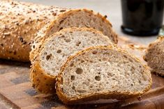 Homemade whole wheat bread without dough - Recipe by Fidelity Cucina Whole Wheat Bread, Easy Bread, Zucchini Bread, Dough Recipe, Biscotti, Bread Recipes, Banana Bread, Good Food, Food And Drink