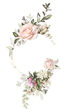 New For Rose Gold Flower Border Transparent Background Watercolor Floral Border