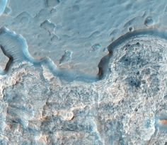 Canyon Details on Mars, Image: NASA/JPL/University of Arizona