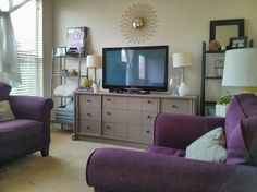 Doing It Myself: Dresser to TV Console | Home For Now