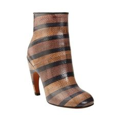 Givenchy Striped Snakeskin Ankle Boot at Barneys.com and other apparel, accessories and trends. Browse and shop 1 related looks.