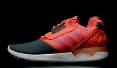 ADIDAS ZX 8000 BOOST- semi solar red/scarlet/core black