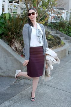 Librarian for Life & Style:  Pencil skirts and peep-toes