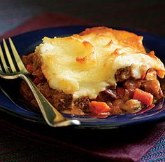 Cottage Pie with Beef & Carrots - St. Patrick's Day