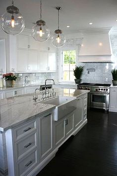 Kitchen ~ #kitchens, #interiors, #whitekitchens, Bristol | Brooke Wagner Design