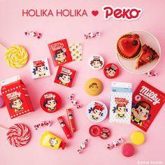 New - Collection Sweet Peko x Holika Holika - K-Beauty, Cosmétiques Asiatiques et Coréens, Univers Kawaii