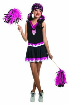 Monster High Fear Squad Draculaura Costume #Halloween #Costumes #Teen #Monsterhigh