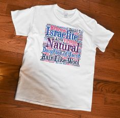 Hair Like Wool Tee by 815SunsetPark on Etsy Natural Hair Shirts, Natural Hair Styles, Hair Like Wool, Natural Accessories, Cotton Tee, Classic T Shirts, T Shirts For Women, Tees, Clothes