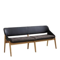 Extravaganz im Esszimmer: Mit dieser Sitzbank von VALNATURA bringen Sie erstklassigen Sitzkomfort zu sich nach Hause. Sitzfläche und Lehne sind aus schwarzem Echtleder gefertigt - so sieht die Bank besonders chic aus. Für Behaglichkeit sorgt dabei die Polsterung aus anthrazitfarbenem Textil. Abgerundet wird die geschmackvolle Aufmachung der Bank durch das Gestell aus massivem Eichenholz - einfach edel. Beweisen Sie Stilbewusstsein mit Ihrer neuen Sitzbank in ansprechendem