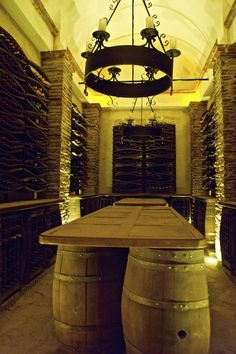 The Esporao private wine cellar, Alentejo, Portugal