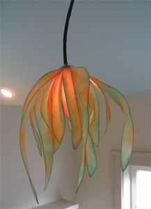 Paper light sculpture HiiH pendant
