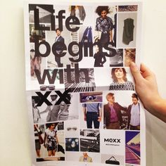 NEWS FLASH! Our Visual merchandising team playing around with our new newspapers. Pick up your copy in stores now #Mexx #newspaper #news #life #begins #with #xx #fashion #campaign #lookbook #ss14 #potd #bts #spring #summer
