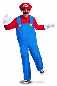 Find officially licensed Super Mario costumes for kids and adults. Shop for Super Mario Brothers costumes, Mario and Luigi costumes, and Princess Peach dresses. Super Mario Bros, Super Mario Brothers, Mario Cosplay, Mario Halloween Costumes, Super Mario Costumes, Halloween 2018, Costume Mario, Adult Halloween, Halloween Candy