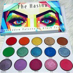 Pinterest @IIIannaIII *The Hasina* Palette by > Blushtribe
