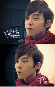 He has a really cute face! G dragon