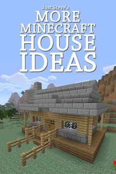 More Minecraft House Ideas A collection of house ideas and blueprints in this Minecraft house guide, by Just Steve ($2.99)