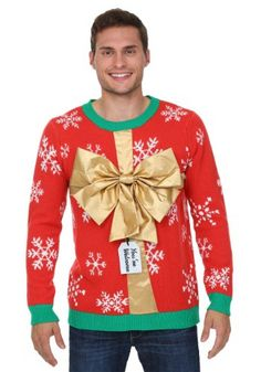 """This is one #UglyChristmasSweater guaranteed to elicit eyerolls - """"you're welcome."""" ;)"""