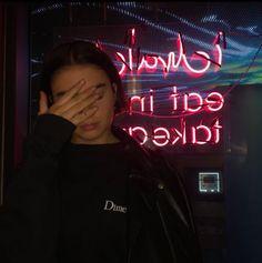 #neon #neonlights #sad #emo #grunge #dark #kawaii #otaku #anime #tumblr #eyebrows #fashion #doll #gingerhair #oc #red #digitalartist #digitalart #redesign #colors #expo #reforma #cdmx #night #lines #contrast #portraitphotography #ri #riphotographer #riphotography #401shooters #photoshoot