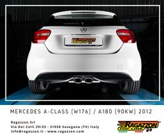 Mercedes Classe A (W176) / A180 (90kW) 2012 with Ragazzon Exhaust
