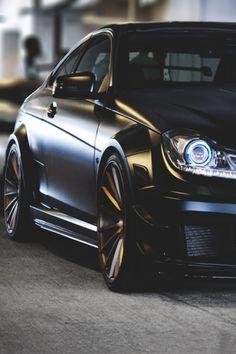 Mercedes C63 AMG Coupe Black Series VOSSEN