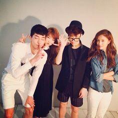 Akdong Musician-Akdong Musician with friends