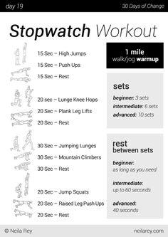 No equipment 30 day workout program - Album on Imgur