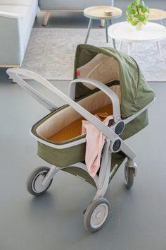 greentom kinderwagen groen legergroen grijs frame Keep Life Simple, Mini Me, Baby Strollers, Nursery, Children, Dom, Design, Dreams, Baby Things