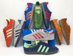 Adidas Handball Spezial. Dark Olive colour way. Depop