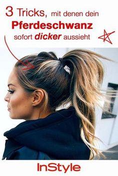 Mit diesen Haar-Tricks wirkt dein Pferdeschwanz sofort voller und dicker!