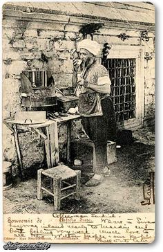 Seyyar Kahveci 1900'ler - Cafedji, Constantinople.