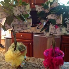 Money tree 15000 singles on the top my projects pinterest teacher gifts money trees negle Image collections