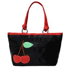 """$198.00 - Carriage Large Ring Tote Black Cherry 15"""" (L) x 12.5"""" (H) x 6"""" (W) Item# SU11-7205-015"""