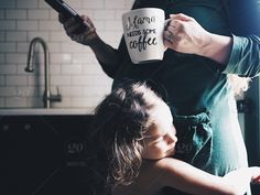 stock photo, family, mother, sibling, mom, pregnant, motherhood, coffee-break, siblings, pregnancy, mobile-device, expecting-mother