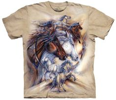 Horse T-Shirt | The Journey is the Reward Adult