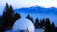 whitepod eco luxury hotel in switzerland