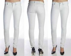 HOW TO WEAR WHITE - RIGHT...  WHITE JEAN FASHION GUIDE