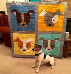 Mack and Mabel: Dog Gone Cute Quilt