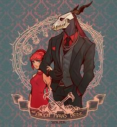 The Ancient Magus' Bride - 魔法使いの嫁 Anime Couples, Cute Couples, Character Inspiration, Character Art, Mago Anime, Elias Ainsworth, Chise Hatori, Comic Anime, Arte Sailor Moon