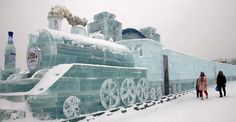 26 Photos Of TheUnbelievable Creations From This Year's International Ice And Snow Festival