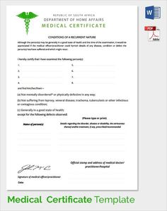 fake medical certificate generator