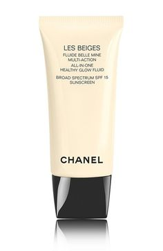 CHANEL LES BEIGES  All-In-One Healthy Glow Fluid Broad Spectrum SPF 15 Sunscreen available at #Nordstrom