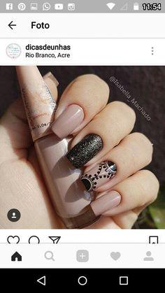 Henna Nails, Gel Nails, Acrylic Nails, Trendy Nail Art, Stylish Nails, Mandala Nails, Manicure E Pedicure, Perfect Nails, Love Nails