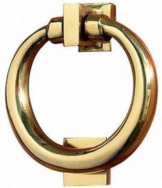 Door Knockers Bright Brass Door Knockers, Brass, Bright, Doors, Bracelets, Gold, Accessories, Jewelry, Bangles